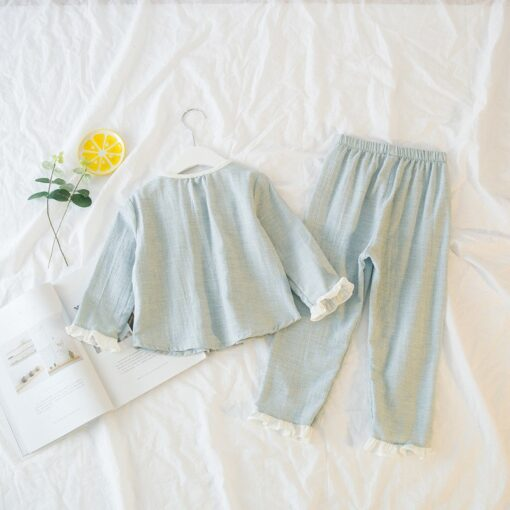 Amazing Easter Pajamas Set for little Girls 2