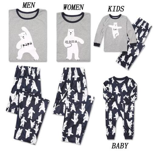 Family Matching Casual Pajamas 1