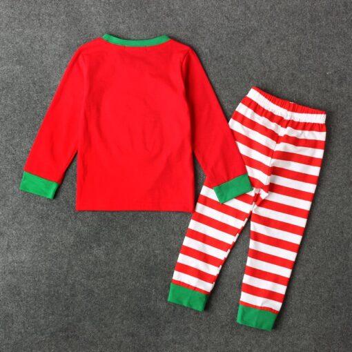 Bear Christmas Pajamas For Toddlers 2