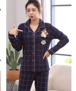 Cotton Casual Family Matching Pajamas 9