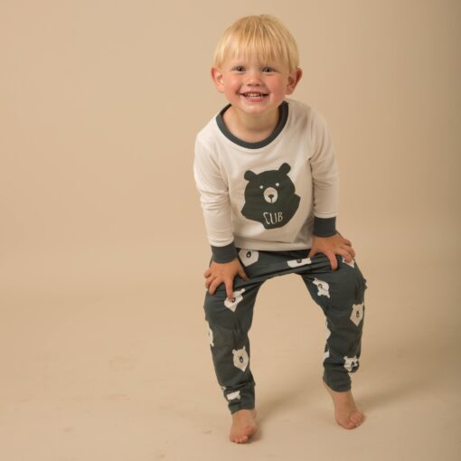 Casual Animal Print  Matching Pajamas For Family 6