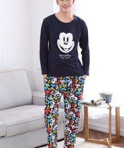 Casual Mickey Prints Family Matching Pajamas 12