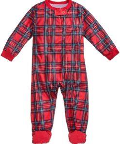 Plaids Matching Family Pajamas 5