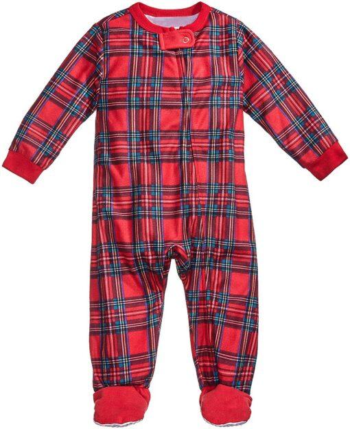 Plaids Matching Family Pajamas 2