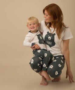Casual Animal Print  Matching Pajamas For Family 8