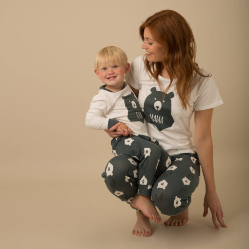 Casual Animal Print  Matching Pajamas For Family 3