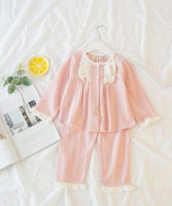 Amazing Easter Pajamas Set for little Girls 5