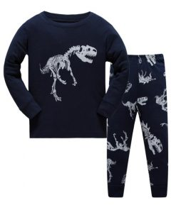 Dinosaur Print Pajamas For Halloween 3