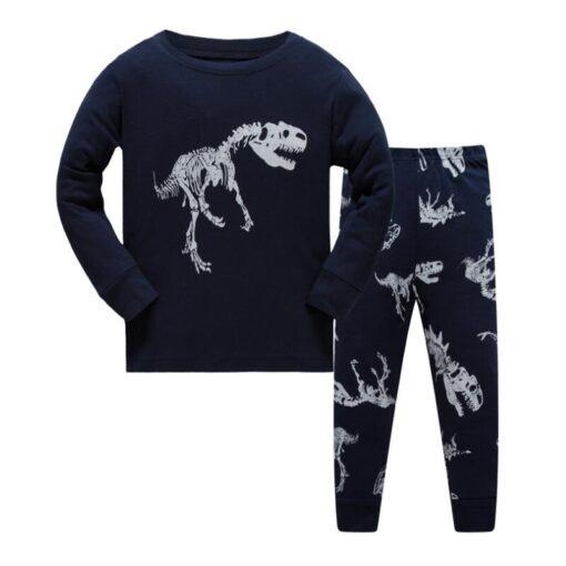 Dinosaur Print Pajamas For Halloween 2