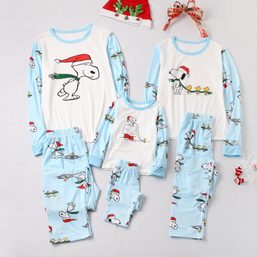 Christmas Season Family Matching Pajamas 1