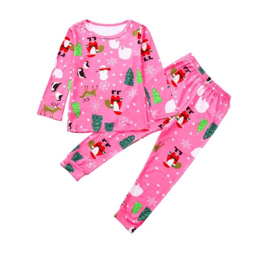 Happy Easter Prints Kids Pajamas 2