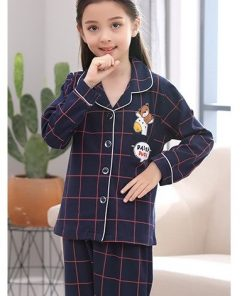 Cotton Casual Family Matching Pajamas 10