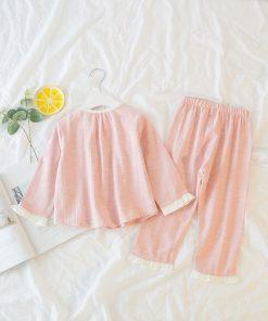 Amazing Easter Pajamas Set for little Girls 4