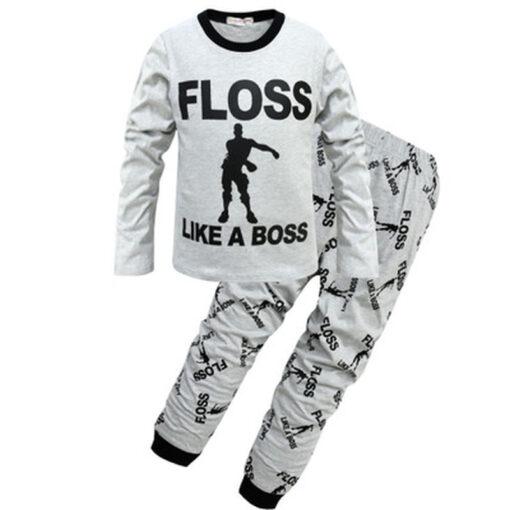 Quoted Cotton Kids Pajamas 1