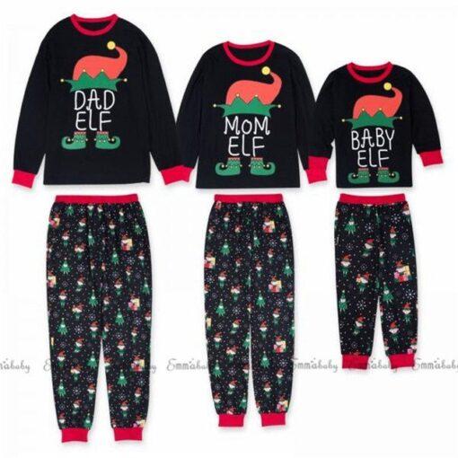 Family Matching Pajamas For Christmas 1