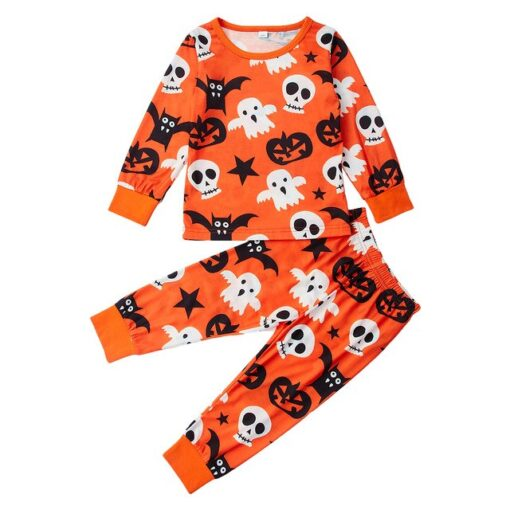 Halloween Cotton Pajamas for Kids 1