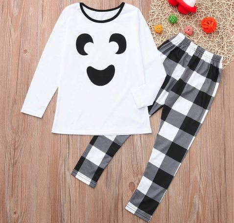 Casual and Comfort Halloween Family Matching Pajamas 4