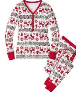 Family Matching Pajamas For Christmas 9
