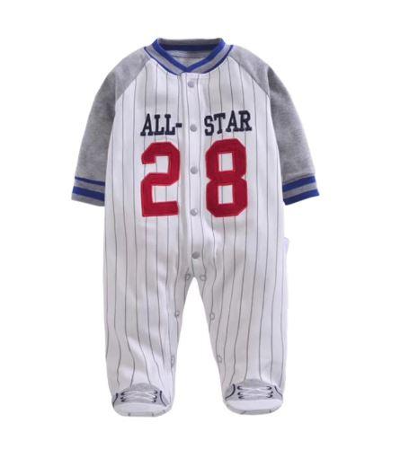 Adorable Sport Onesie Pajamas For Infants 1