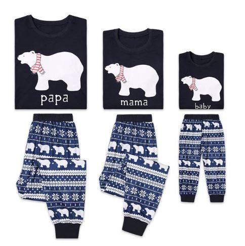 Family Matching Pajamas For Christmas Eve 1