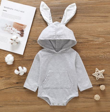 Baby Cute Easter Romper Pajamas 2