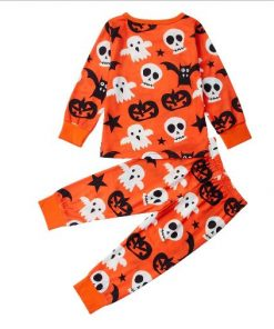 Halloween Cotton Pajamas for Kids 3