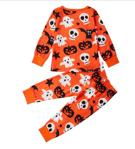 Halloween Cotton Pajamas for Kids 2