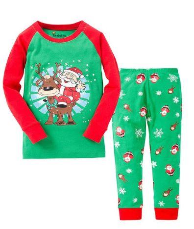 Comfortable Kids Pajamas for Christmas Eve 1