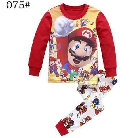Adorable Super Mario Kids Pajamas 1