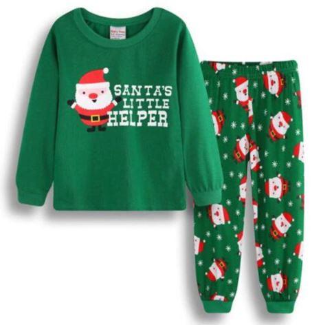 Christmas Cozy Santa Pajamas for Kids 1