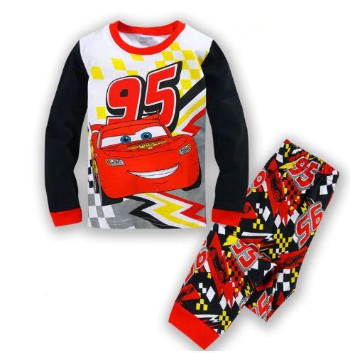 Car Game Pajamas for kids 1