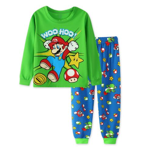Super-Mario Theme Kids Pajamas 1
