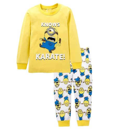 Minion Theme Kids Pajamas 1