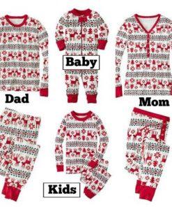 Family Matching Pajamas For Christmas 7