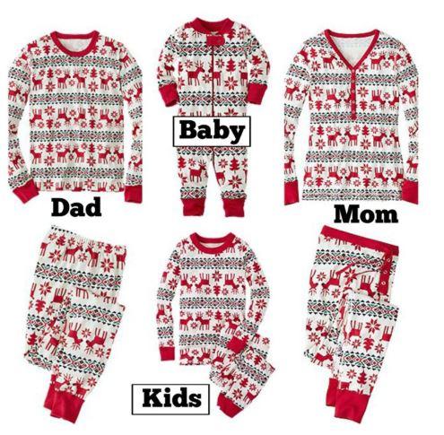 Family Matching Pajamas For Christmas 2