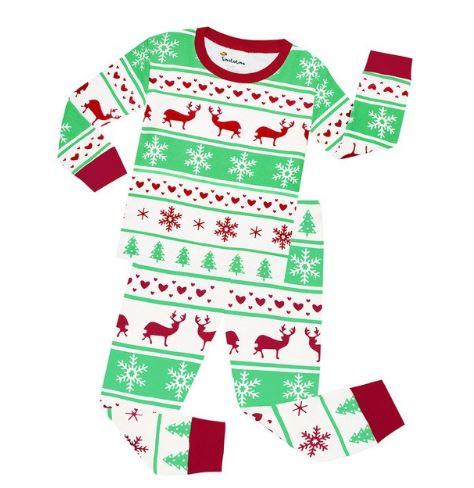 Christmas Theme Cute Kids Pajamas 1