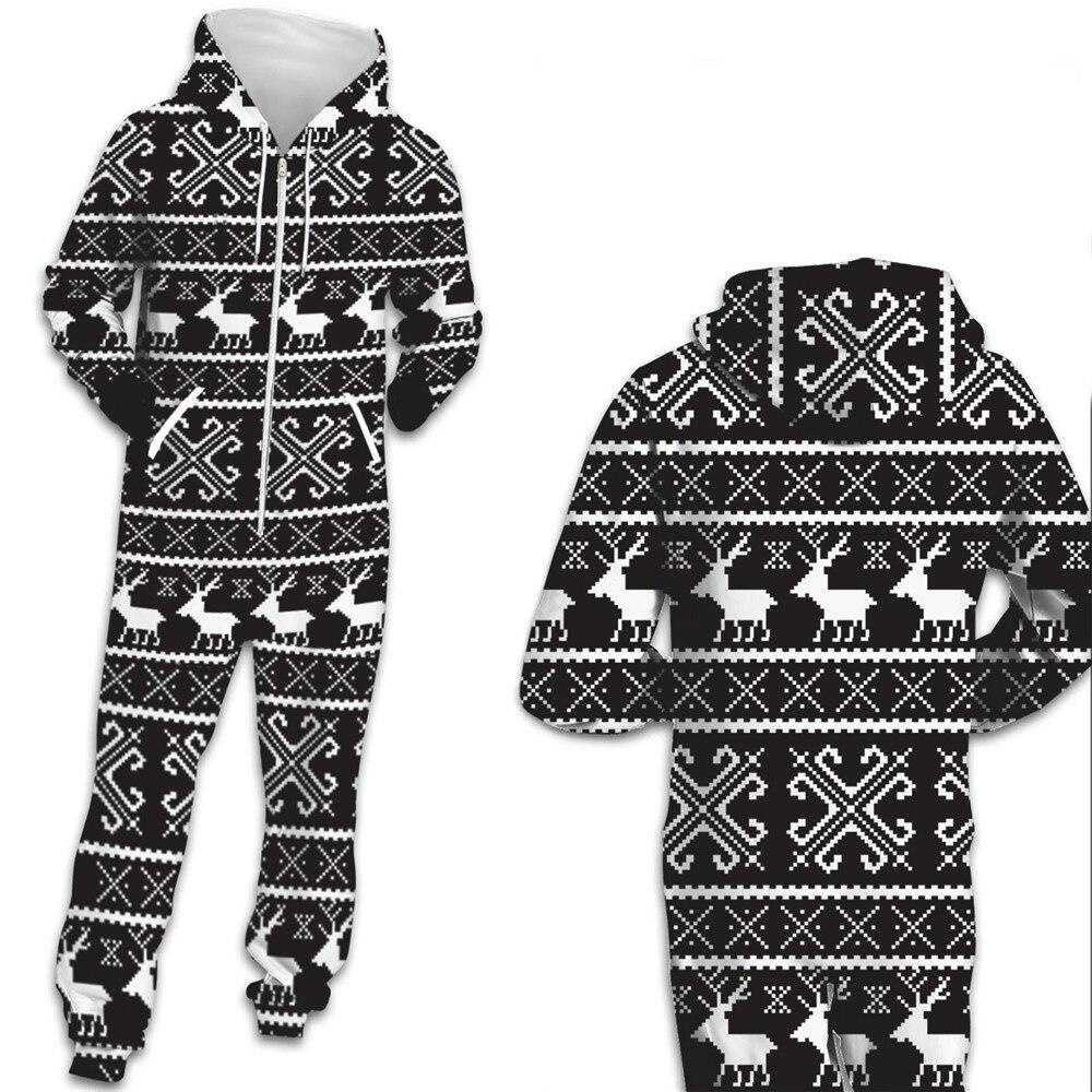 Deer Hooded Couple Pajamas
