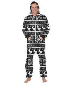 Deer Hooded Matching Pajamas for Couple 9