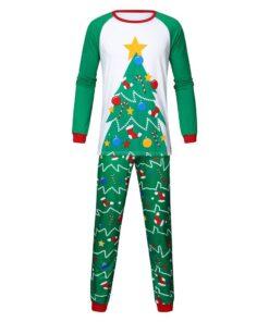 Cute Christmas Couple Pajamas Set 4