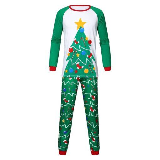 Cute Christmas Couple Pajamas Set 2