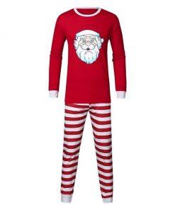 Cute Christmas Couple Pajamas Set 5