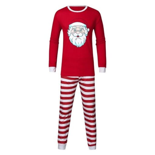 Cute Christmas Couple Pajamas Set 3