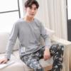 Bunny Themed Long Sleeve Couple Pyjama Set 4