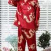 Best Dragon Themed Long Sleeve Pajama Set 17