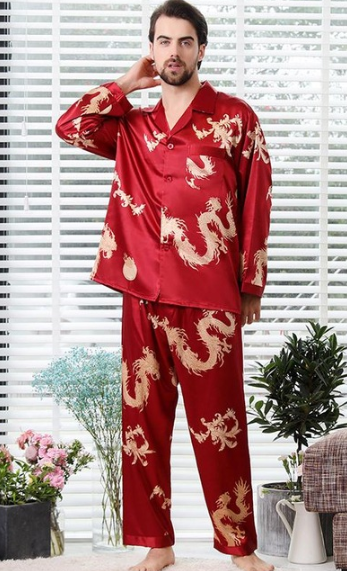 Adorable Dragon Themed Long Sleeve Pajama Set 4