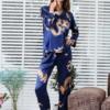 Best Dragon Themed Long Sleeve Pajama Set 14