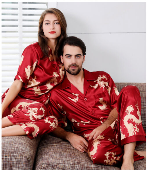 Adorable Dragon Themed Long Sleeve Pajama Set 8