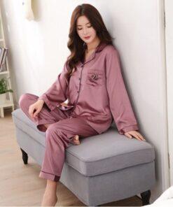 Boyfriend and Girlfriend matching pajamas in Pink