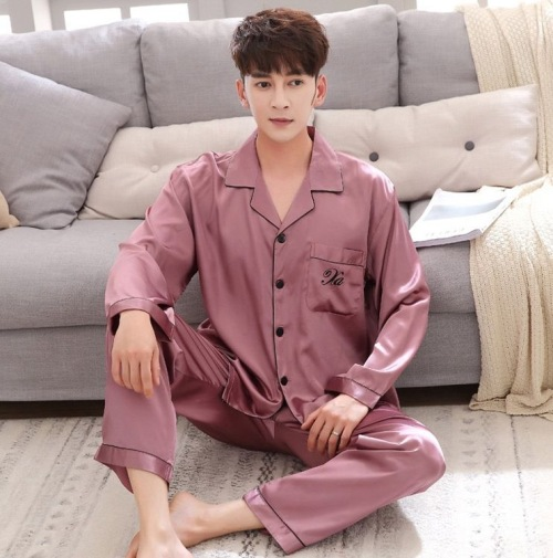 Pink His and Hers Pajamas Set