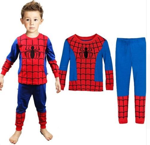 Spiderman Pajamas for Kids and Toddlers